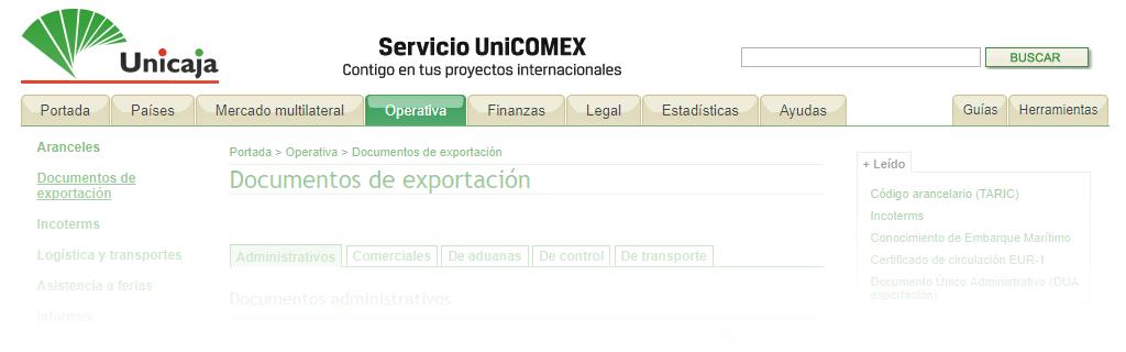 Documentos para Exportar en el Comercio Exterior