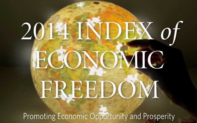 Índice de Libertad Económica 2014